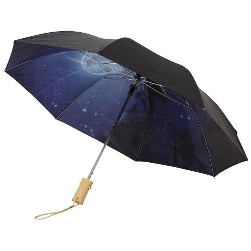 """2-częściowy automatyczny parasol Clear Night Sky o średnicy 21"""""""