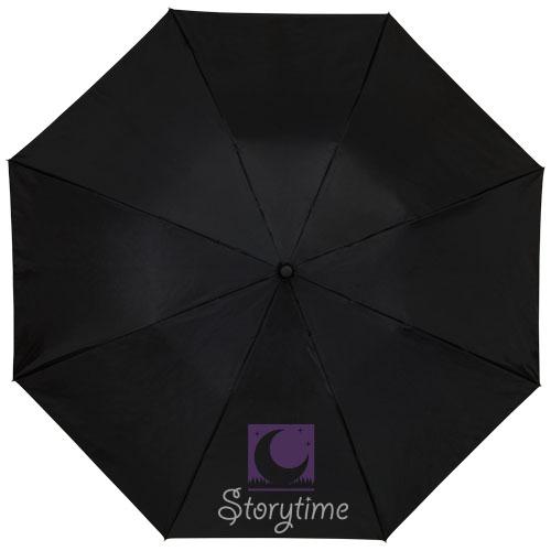 """2-częściowy automatyczny parasol Clear Night Sky o średnicy 21"""" zdj 3"""