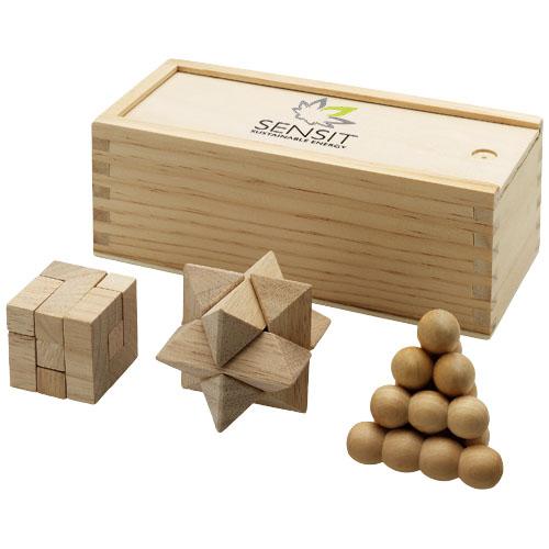 Zestaw łamigłówek drewnianych Braniac zdj 2